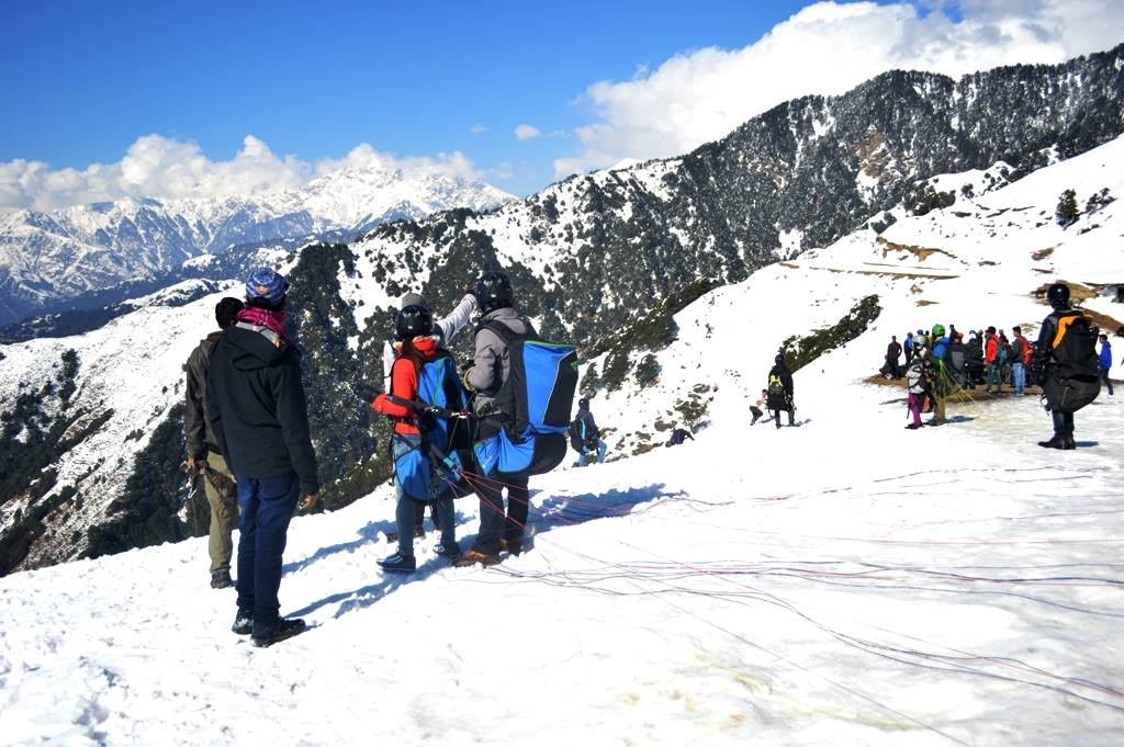 Paragliding is open in winters