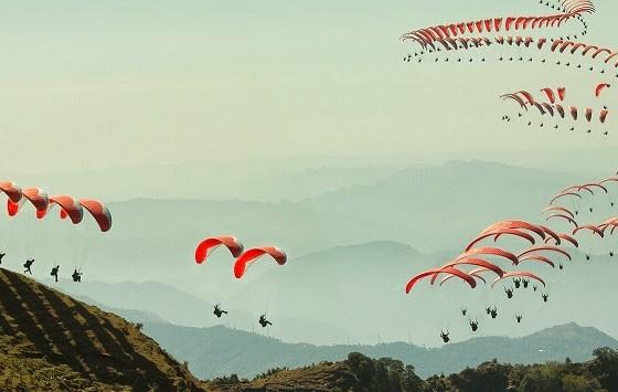 Fly bir Billing paragliding