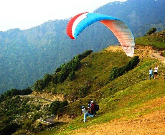 Bir Billing Take of site for Paragliding