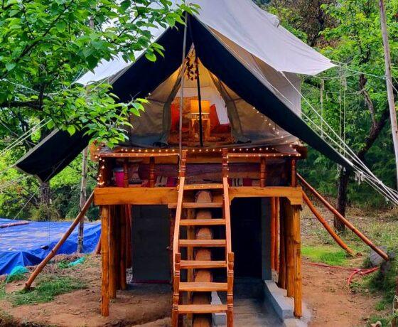 Machaan Tent at Camp Oak View
