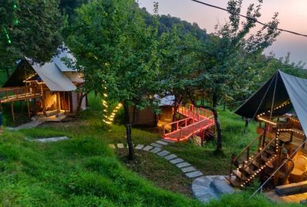 Machaan Tents for luxury Camping