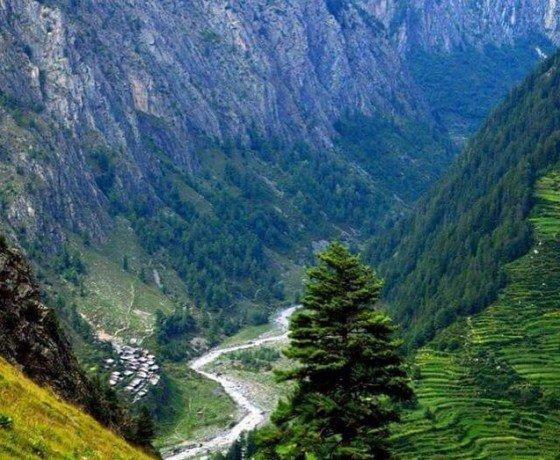 Bada Bhangal village is tribal part of Himachal Pradesh in Bir Billing