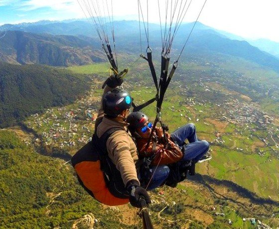 Bir Billing paragliding and Camping experience