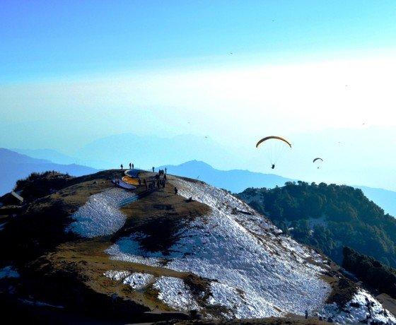Amazing paragliding holidays