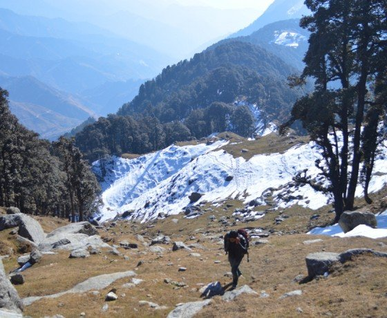 Snow treks in Bir Billing