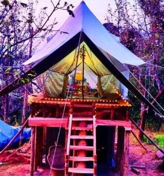 Machaan Tent honeymoon package bir billing