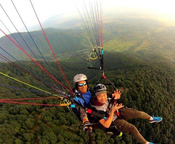 Triund paragliding flights from Bir Billing 3 hrs flights, Paragliding Flight to Triund from Bir Billing
