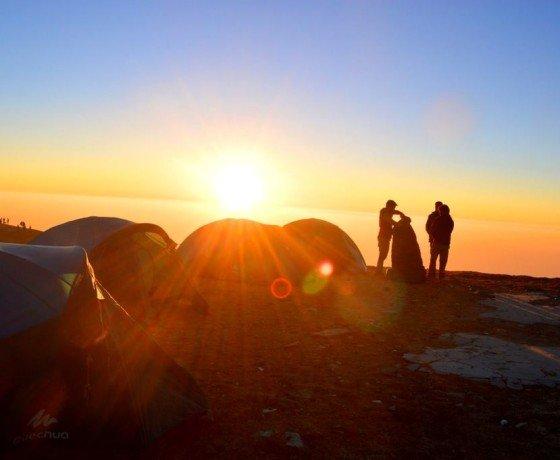 Paragliding at Bir Billing and camping