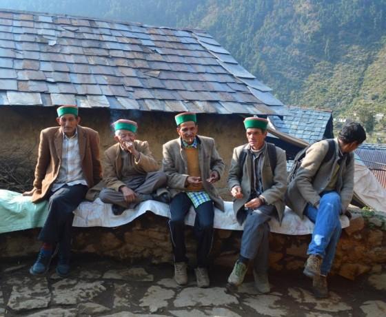 Tribal villages in Bir Billing valley