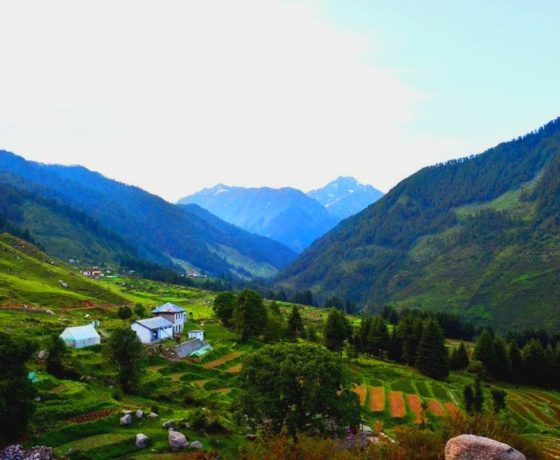 Barot and Raj Gundha valley in Bir Billing