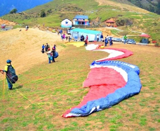 paragliding courses at BirBilling Himachal Pradesh